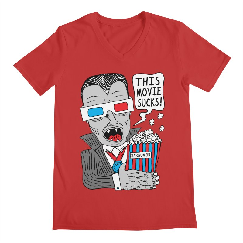 This Movie Sucks Men's V-Neck by James A. Roberson (JARHUMOR)