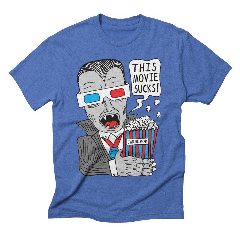 This Movie Sucks Men's Triblend T-shirt by James A. Roberson (JARHUMOR)