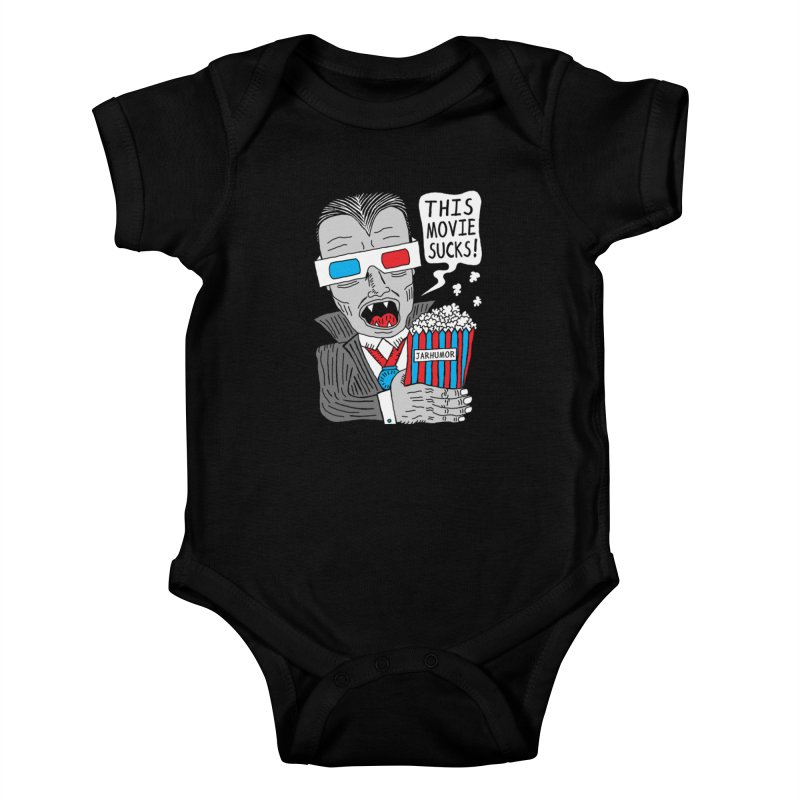 This Movie Sucks Kids Baby Bodysuit by JARHUMOR