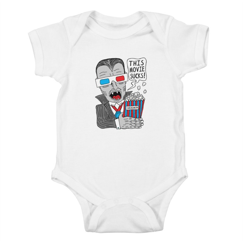 This Movie Sucks Kids Baby Bodysuit by James A. Roberson (JARHUMOR)