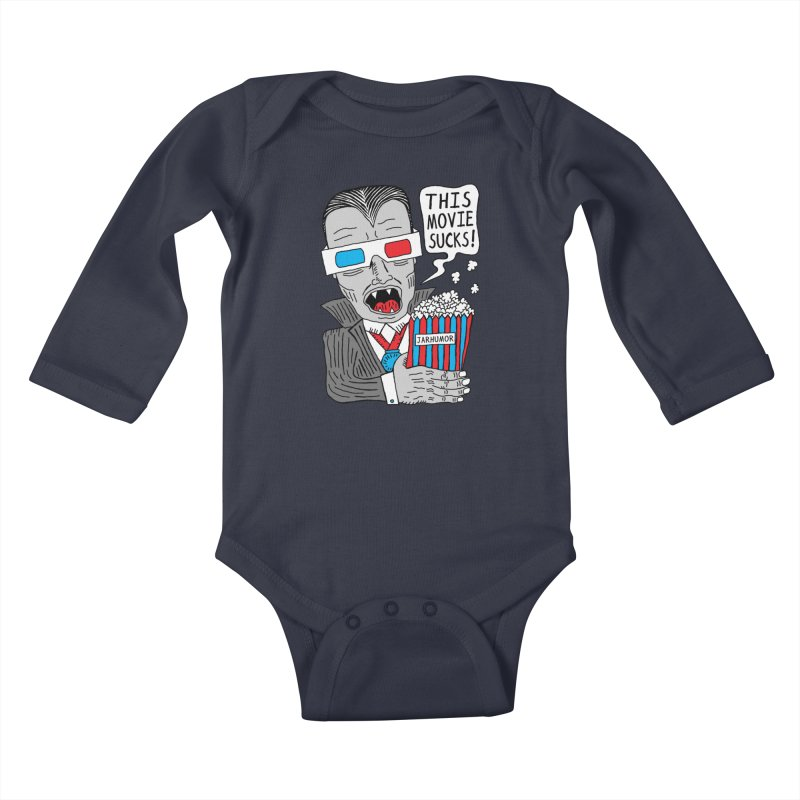 This Movie Sucks Kids Baby Longsleeve Bodysuit by JARHUMOR