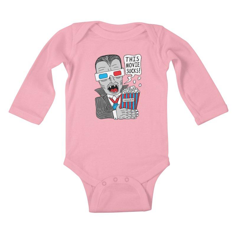 This Movie Sucks Kids Baby Longsleeve Bodysuit by James A. Roberson (JARHUMOR)