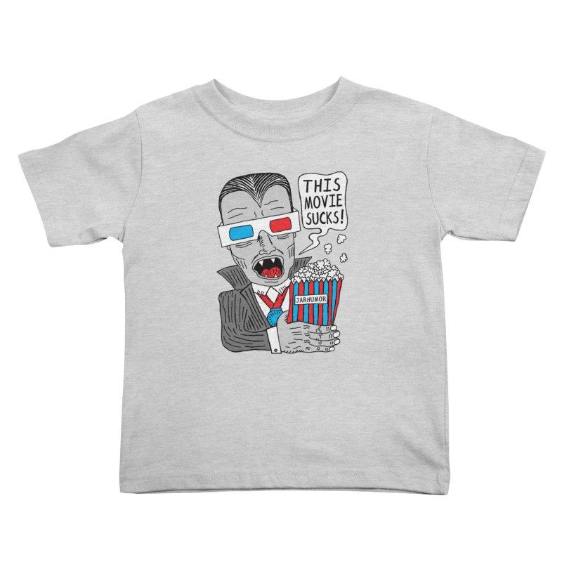 This Movie Sucks Kids Toddler T-Shirt by JARHUMOR