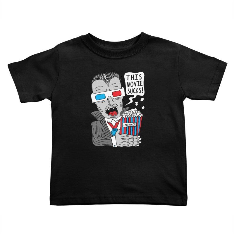 This Movie Sucks Kids Toddler T-Shirt by James A. Roberson (JARHUMOR)