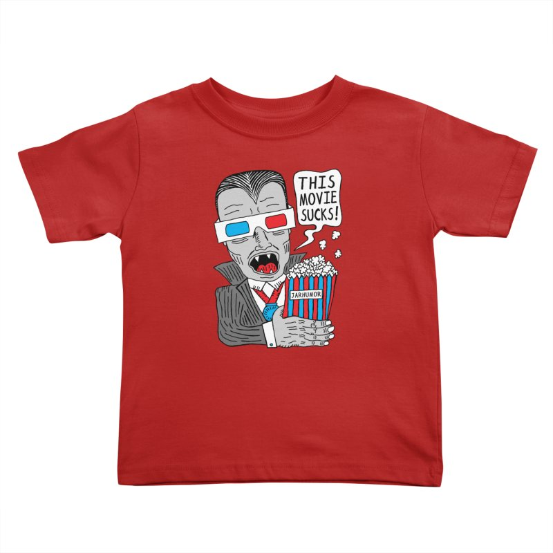 This Movie Sucks Kids Toddler T-Shirt by James A. Roberson (JARHUMOR)
