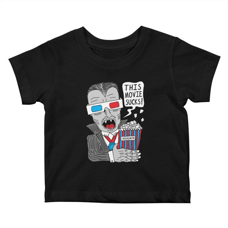 This Movie Sucks Kids Baby T-Shirt by JARHUMOR