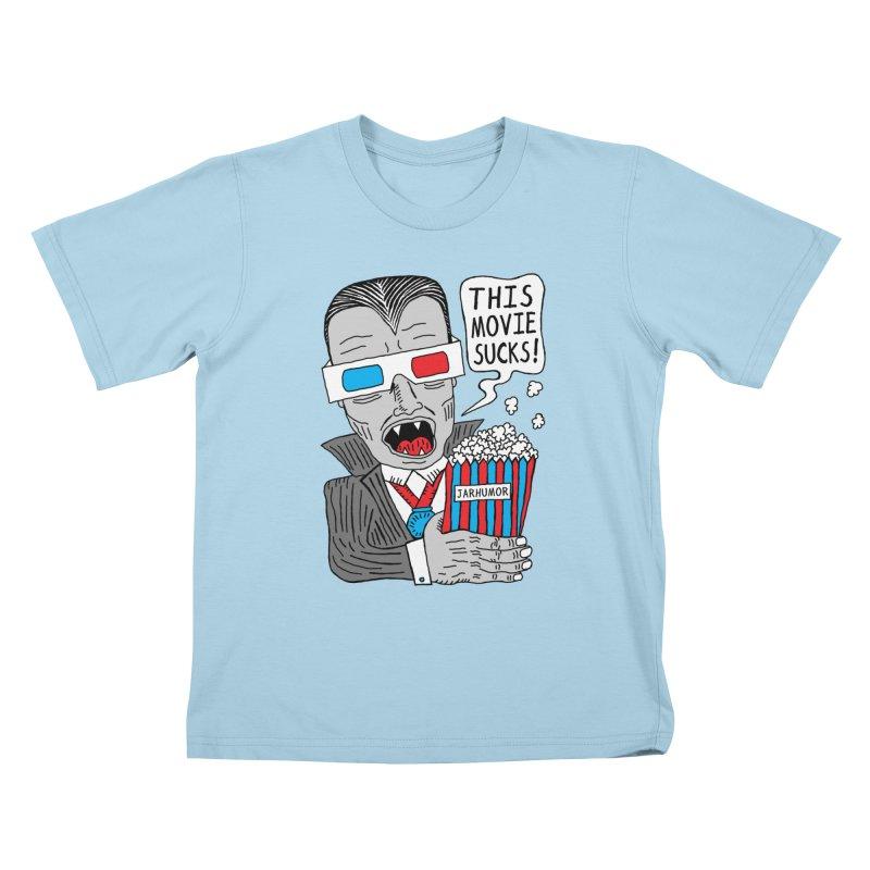 This Movie Sucks Kids T-Shirt by JARHUMOR