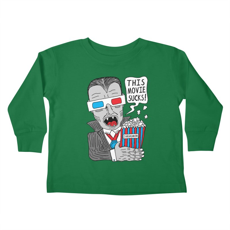 This Movie Sucks Kids Toddler Longsleeve T-Shirt by James A. Roberson (JARHUMOR)