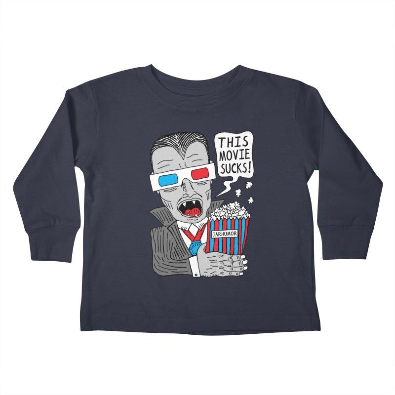 This Movie Sucks Kids Toddler Longsleeve T-Shirt by JARHUMOR