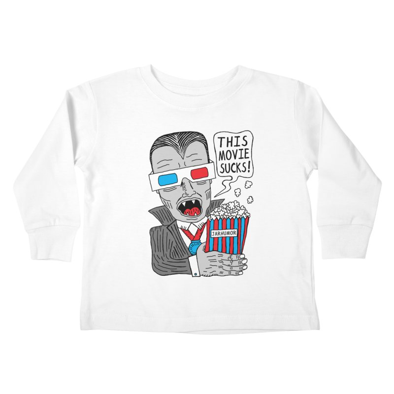 This Movie Sucks Kids Toddler Longsleeve T-Shirt by JARHUMOR