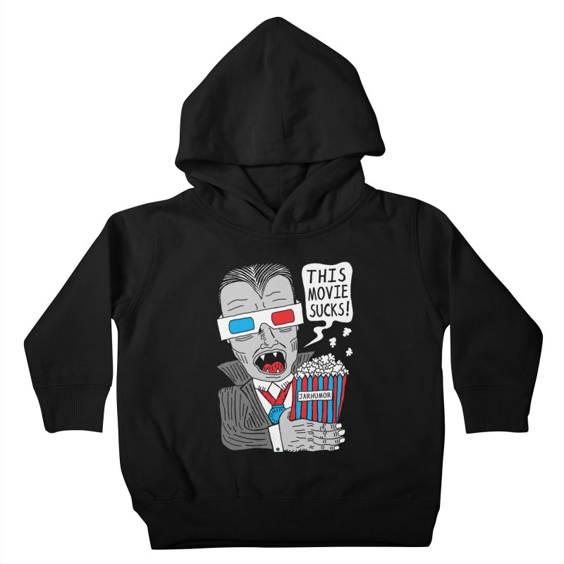 This Movie Sucks Kids Toddler Pullover Hoody by James A. Roberson (JARHUMOR)