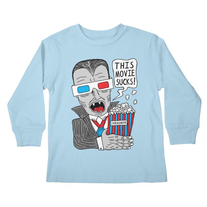 This Movie Sucks Kids Longsleeve T-Shirt by JARHUMOR