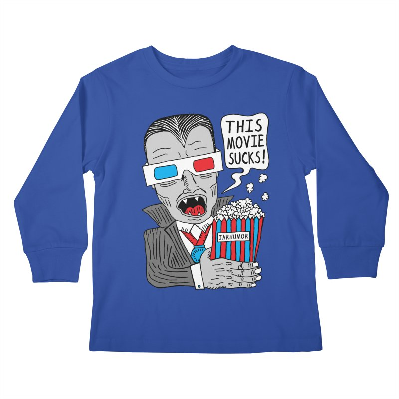 This Movie Sucks Kids Longsleeve T-Shirt by James A. Roberson (JARHUMOR)