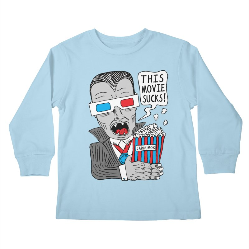 This Movie Sucks Kids Longsleeve T-Shirt by JARHUMOR