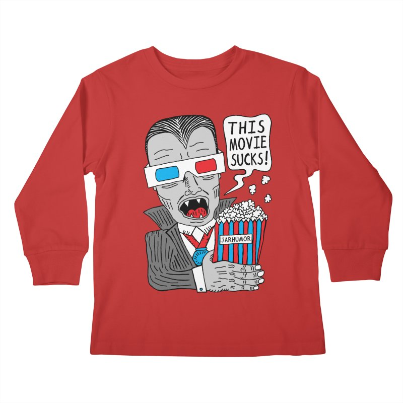 This Movie Sucks Kids Longsleeve T-Shirt by James A. Roberson (JARHUMOR)