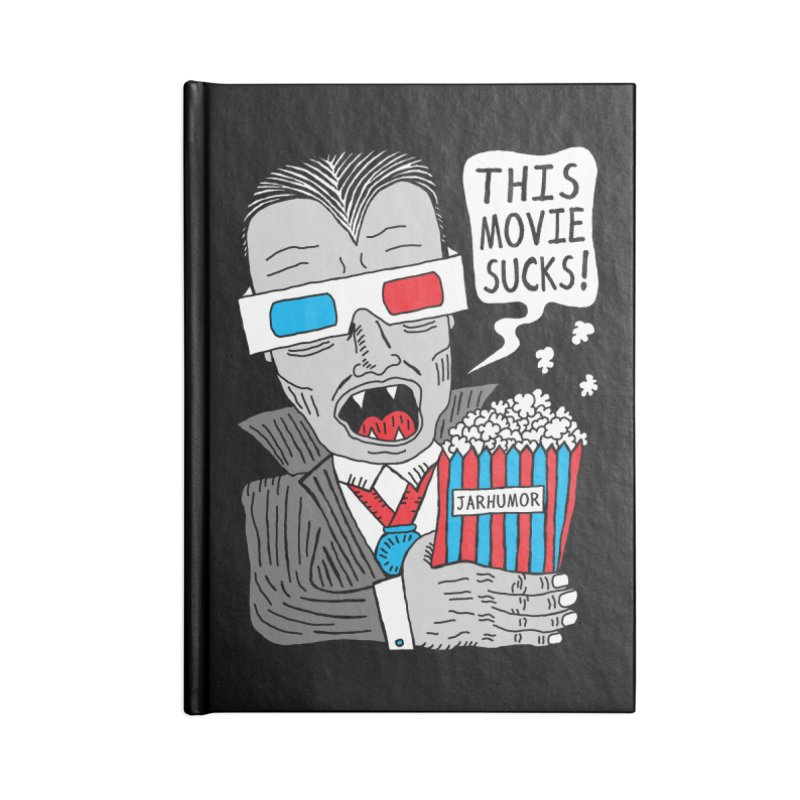 This Movie Sucks Accessories Blank Journal Notebook by JARHUMOR