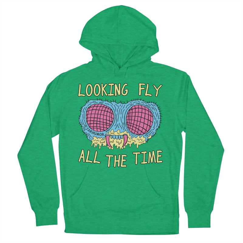 Looking Fly Men's Pullover Hoody by James A. Roberson (JARHUMOR)