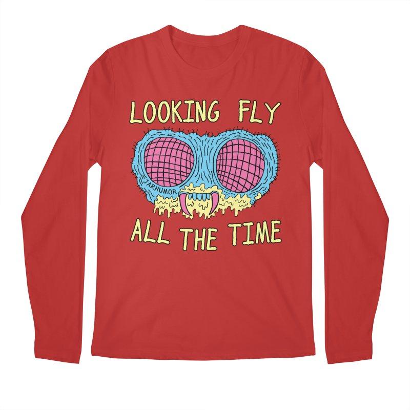 Looking Fly Men's Longsleeve T-Shirt by JARHUMOR
