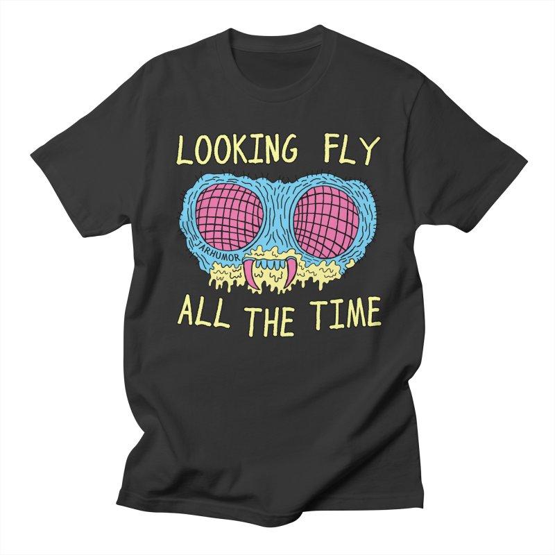 Looking Fly Men's T-Shirt by JARHUMOR