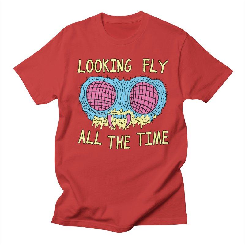 Looking Fly Men's Regular T-Shirt by JARHUMOR