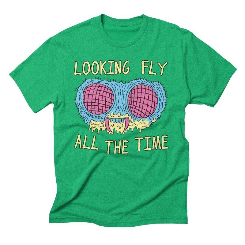 Looking Fly Men's Triblend T-Shirt by JARHUMOR