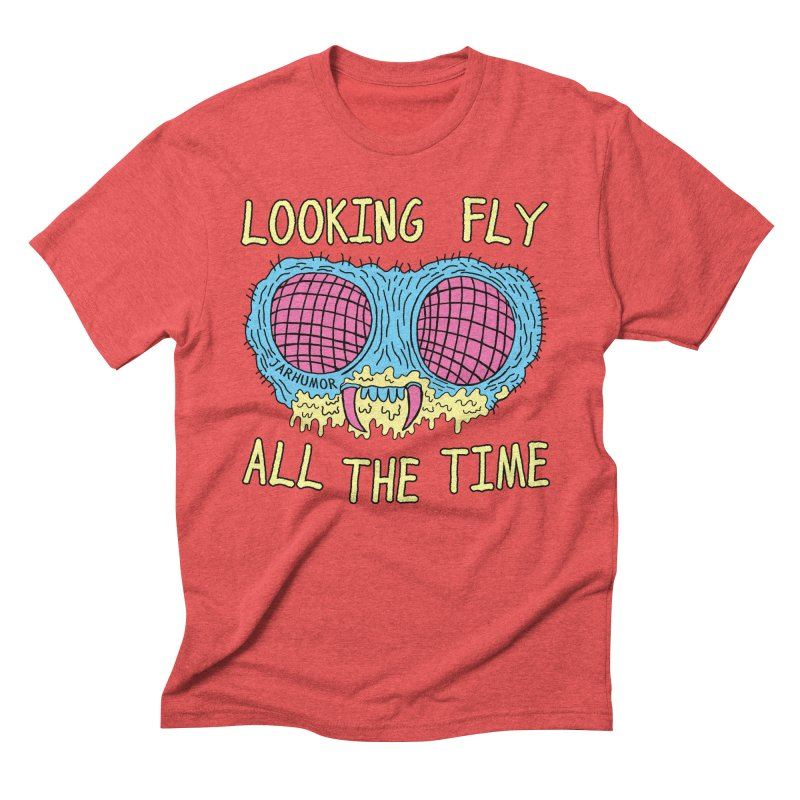 Looking Fly Men's Triblend T-shirt by James A. Roberson (JARHUMOR)
