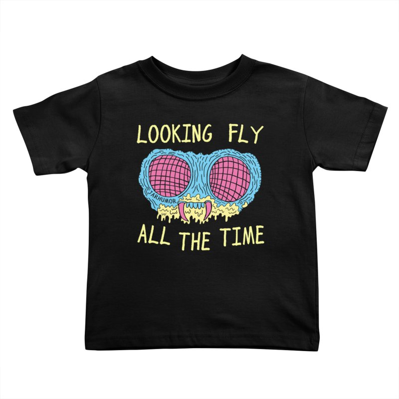Looking Fly Kids Toddler T-Shirt by James A. Roberson (JARHUMOR)