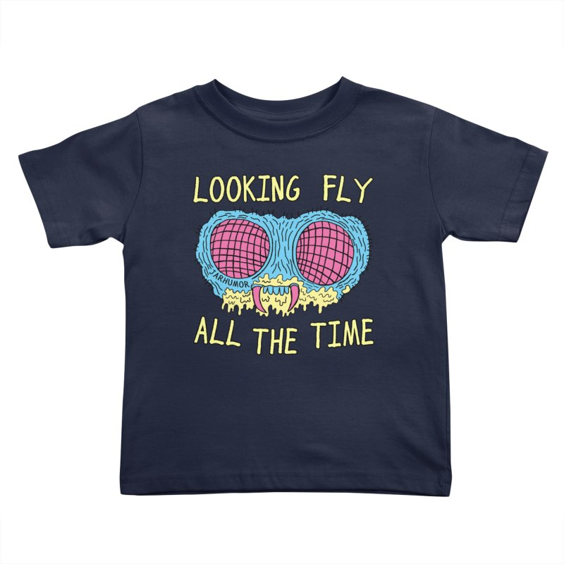 Looking Fly Kids Toddler T-Shirt by JARHUMOR