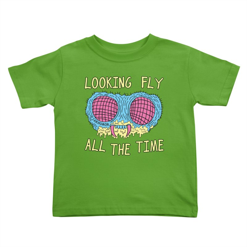 Looking Fly Kids Toddler T-Shirt by JARHUMOR