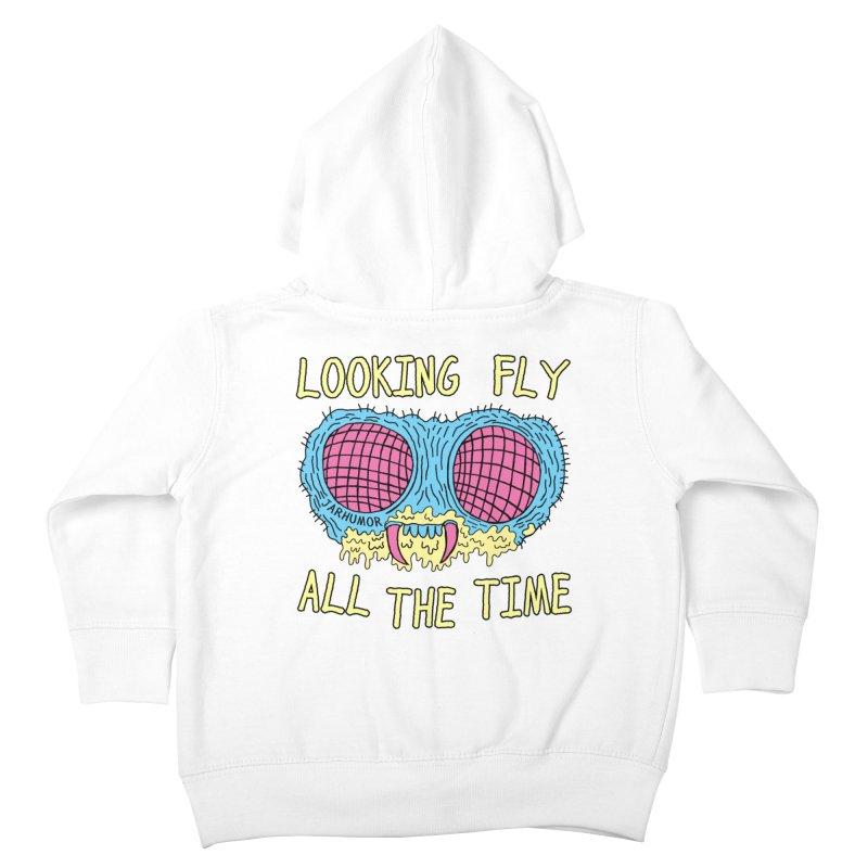 Looking Fly Kids Toddler Zip-Up Hoody by JARHUMOR