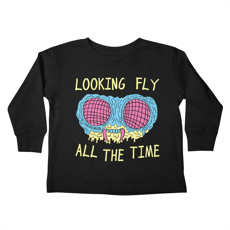 Looking Fly Kids Toddler Longsleeve T-Shirt by James A. Roberson (JARHUMOR)