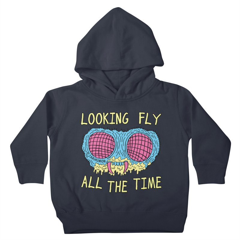 Looking Fly Kids Toddler Pullover Hoody by James A. Roberson (JARHUMOR)