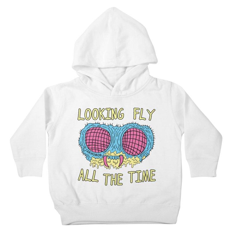 Looking Fly Kids Toddler Pullover Hoody by JARHUMOR