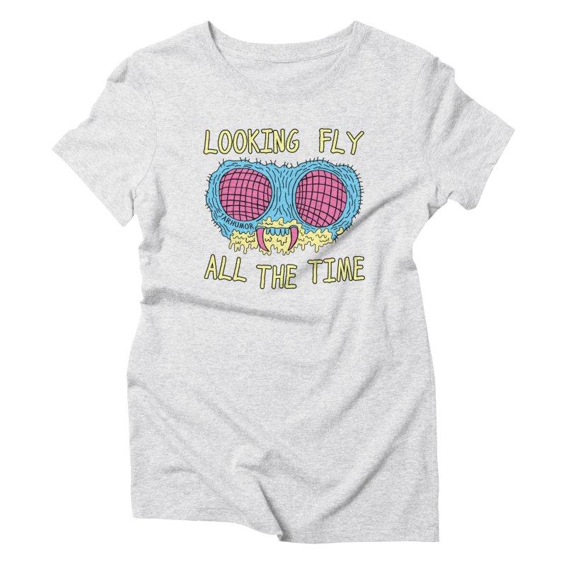 Looking Fly Women's T-Shirt by JARHUMOR