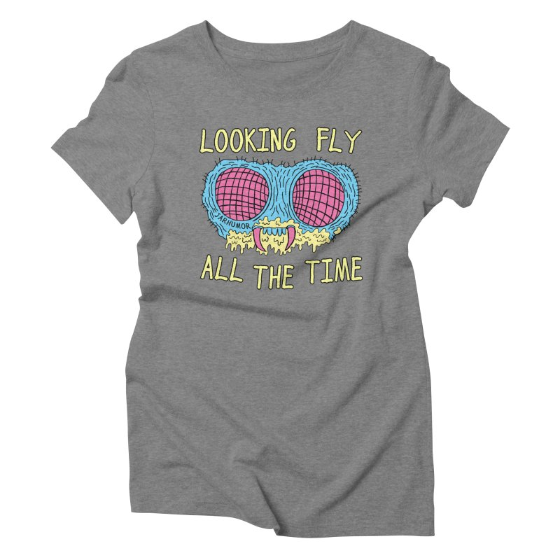 Looking Fly Women's Triblend T-shirt by James A. Roberson (JARHUMOR)