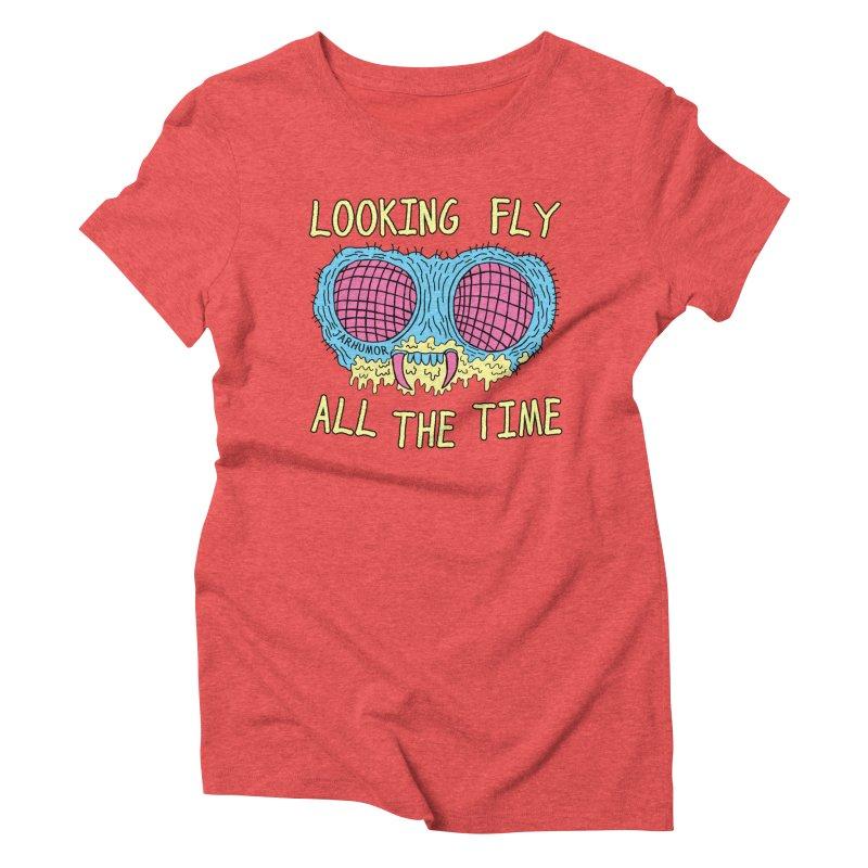 Looking Fly Women's Triblend T-Shirt by JARHUMOR