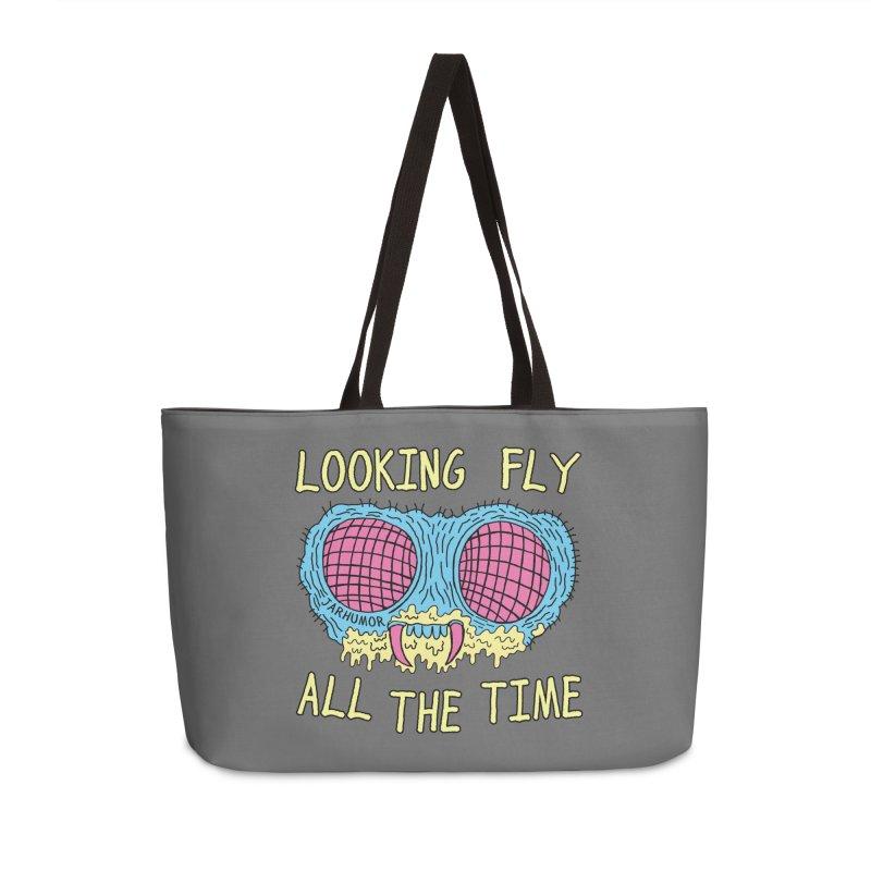 Looking Fly Accessories Weekender Bag Bag by JARHUMOR