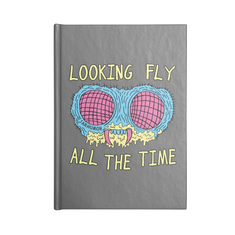 Looking Fly Accessories Lined Journal Notebook by JARHUMOR
