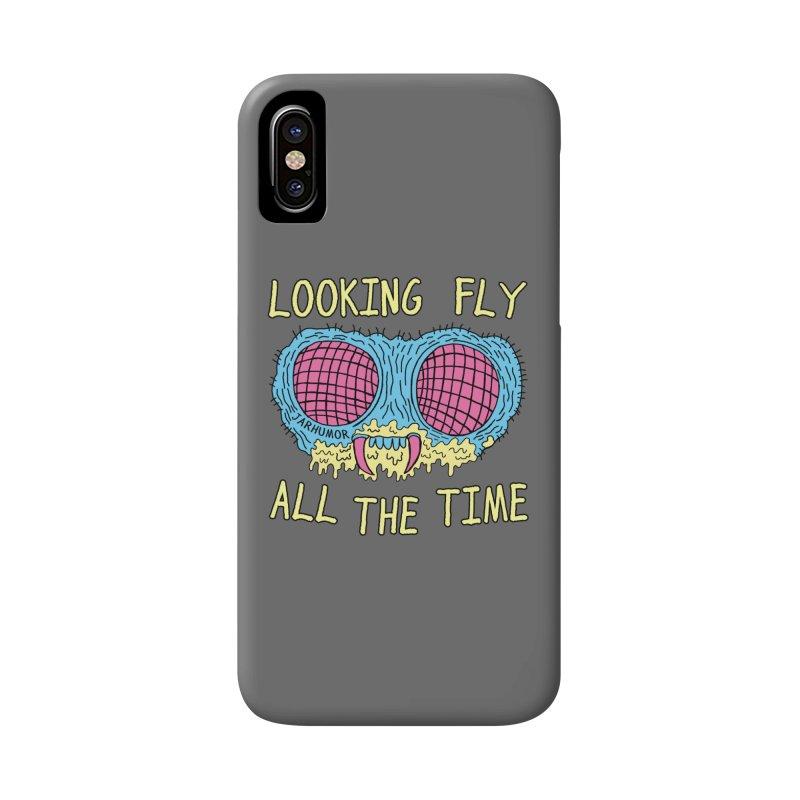 Looking Fly Accessories Phone Case by JARHUMOR