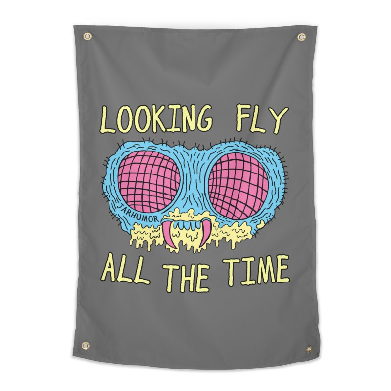 Looking Fly Home Tapestry by JARHUMOR