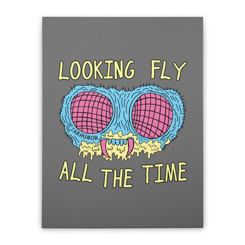 Looking Fly Home Stretched Canvas by JARHUMOR