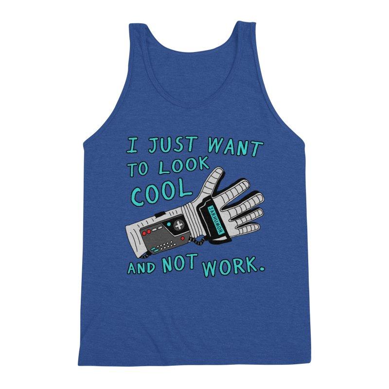 Look Cool Not Work (Power Glove) Men's Tank by JARHUMOR