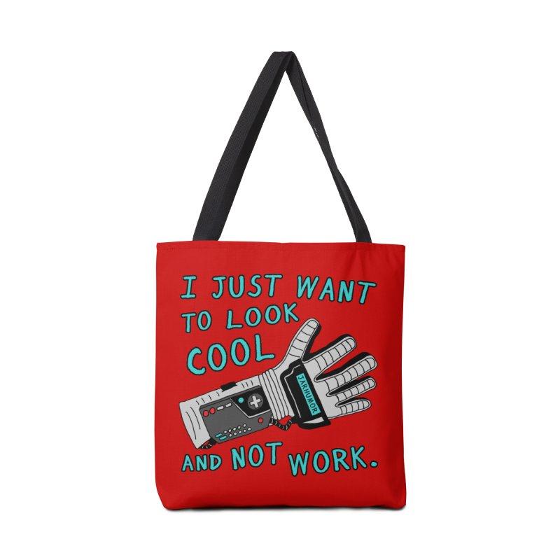Look Cool Not Work (Power Glove) Accessories Bag by JARHUMOR