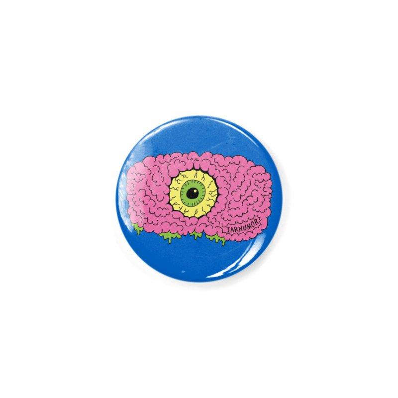 Eye Brain Monster Accessories Button by JARHUMOR