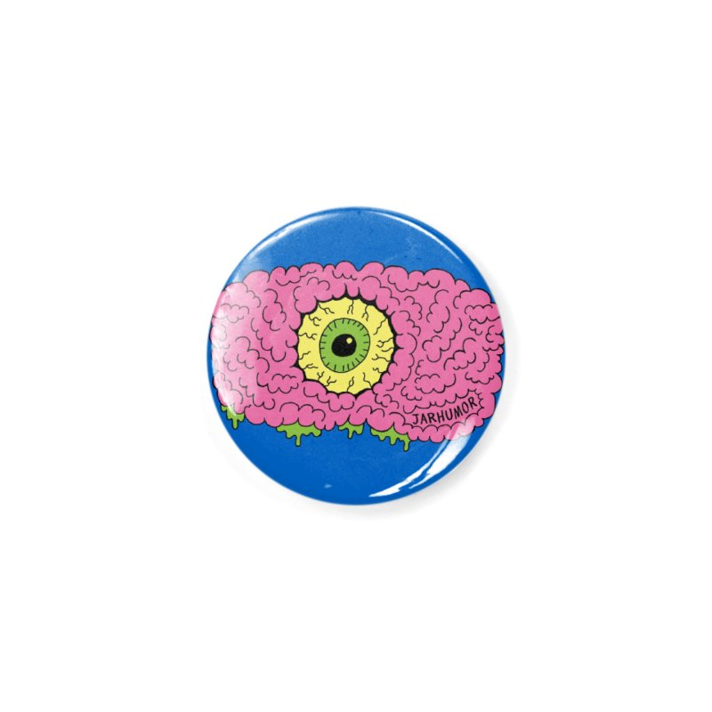 Eye Brain Monster Accessories Button by JARHUMOR
