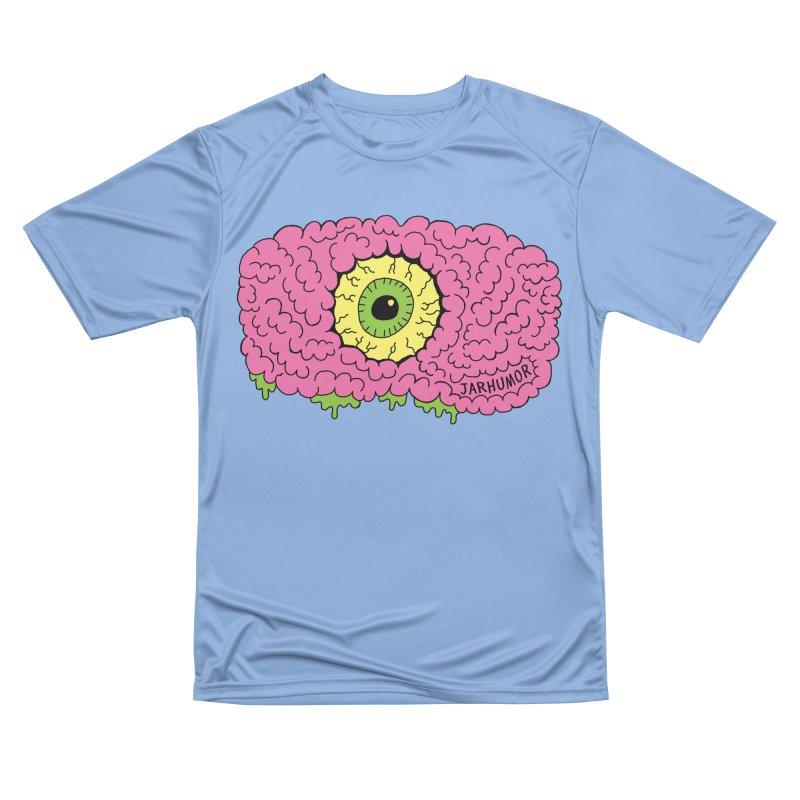 Eye Brain Monster Women's Performance Unisex T-Shirt by JARHUMOR