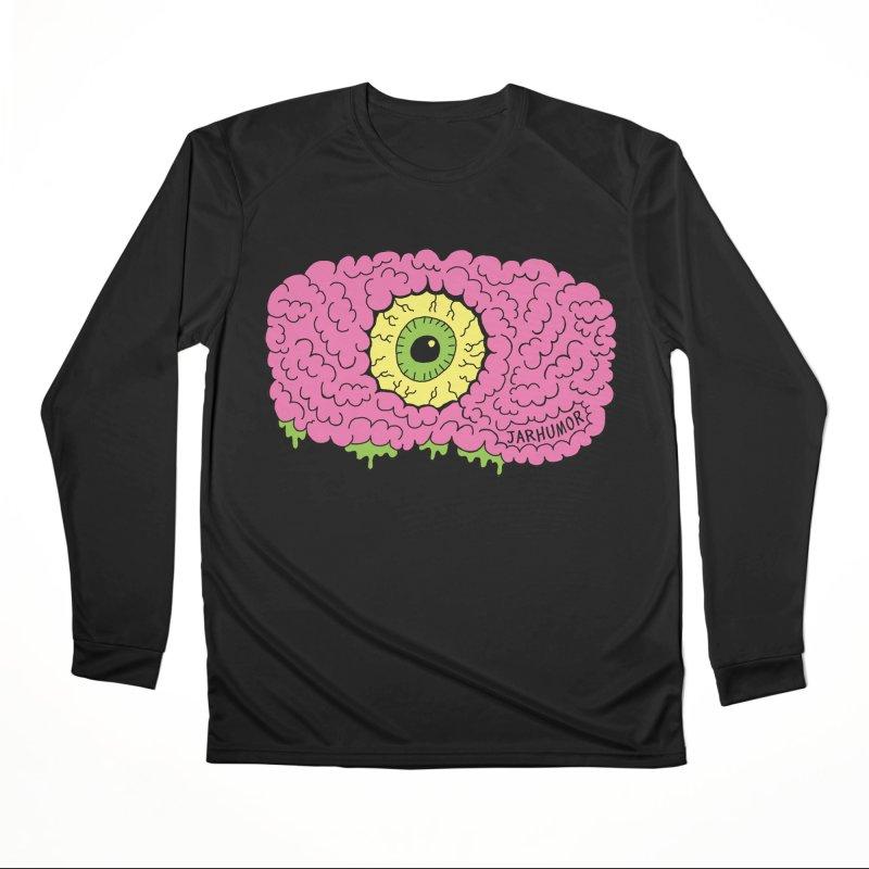 Eye Brain Monster Women's Performance Unisex Longsleeve T-Shirt by JARHUMOR