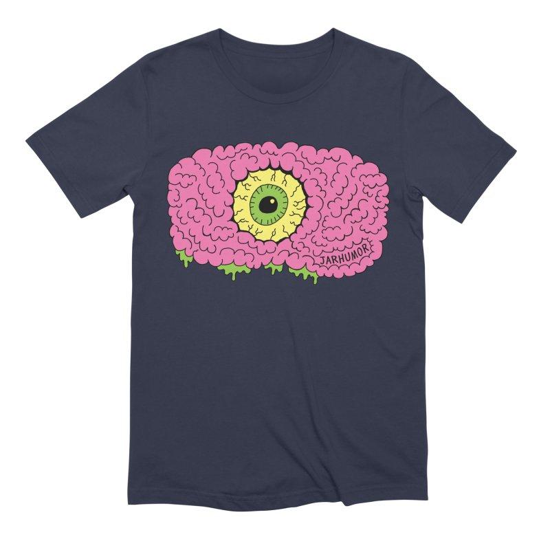 Eye Brain Monster Men's Extra Soft T-Shirt by JARHUMOR