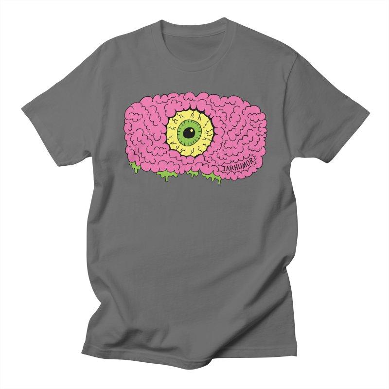 Eye Brain Monster Men's Regular T-Shirt by JARHUMOR