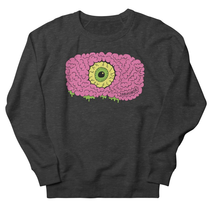 Eye Brain Monster Women's French Terry Sweatshirt by JARHUMOR